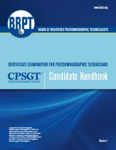 CPSGT Handbook – Board of Registered Polysomnographic